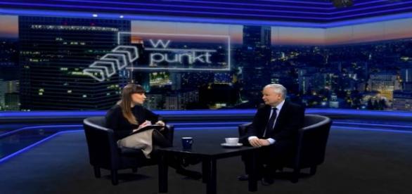 Prezes J. Kaczyński w TV Republika
