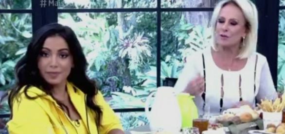 Anitta e Ana Maria - Foto/Reprodução: Globo