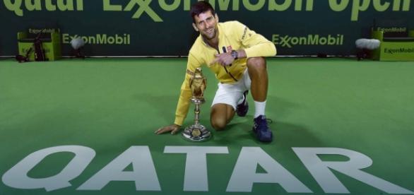 Djokovic l-a spulberat pe Nadal la Doha