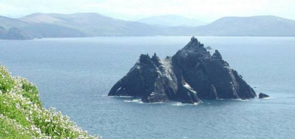 Ilha de Skelling Michael foi cenário de Star Wars