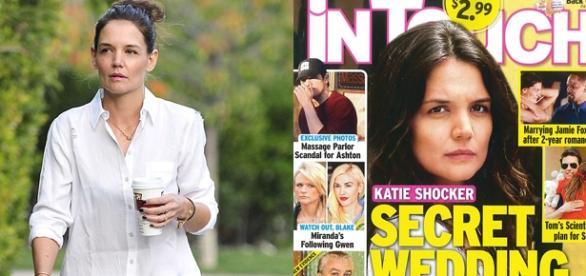 Katie Holmes está apaixonada por Jamie Foxx