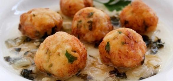 Albóndigas de pescado con curry y soja
