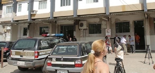 Delegacia de Caratinga, em Minas Gerais