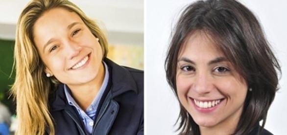 Depois de três meses juntas, Fernanda Gentil e Priscila Montandon assumem o namoro