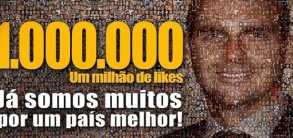 Eduardo agradeceu o apoio dos seguidores (Foto: Reprodução/Facebook)