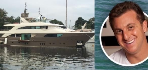 Luciano Huck e o barco milionário