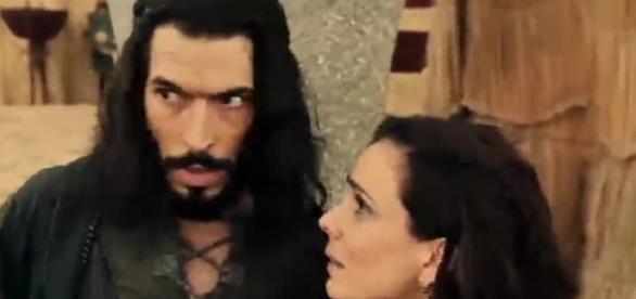 Raabe e Sandor tentam fugir de Jericó