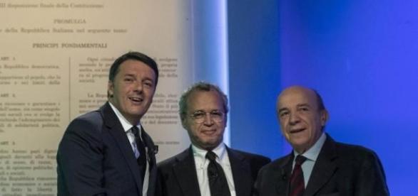 Referendum, il confronto Renzi-Zagrebelsky - agoramagazine.it