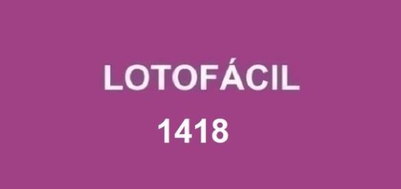 Resultado em 30/09, sorteio Lotofácil 1418