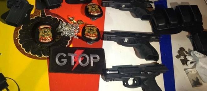 Agentes de segurança do Presidente da República foram presos por assalto e porte de drogas