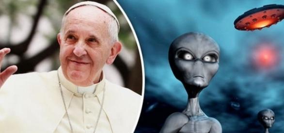 Papa si Vaticanul stiu despre extraterestri