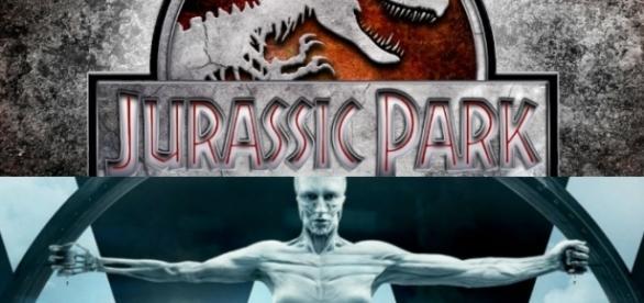 Qual a semelhança entre Jurassic Park e Westworld?