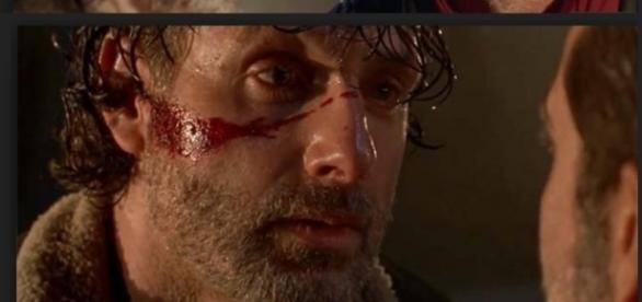 Rick ameaça Negan no vídeo divulgado pela Fox
