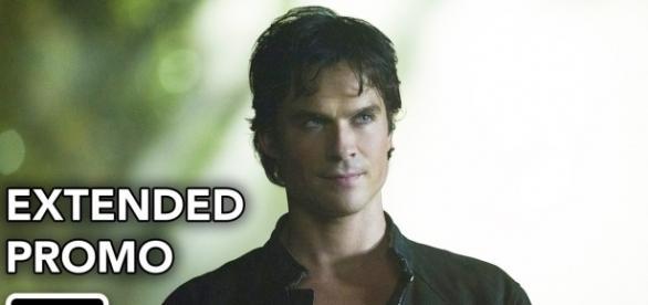 The Vampire Diaries 8x01: Damon Salvatore (Foto: CW/YouTube)
