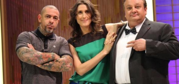Henrique Fogaça, Paola Carosella e Erick Jacquin: erros técnicos levaram a eliminação