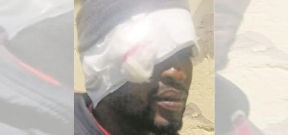 Mnombo Madyibi, de 32 anos, que teria sido agredido pela mulher