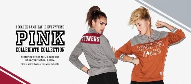 PINK presenta su nueva colección Collegiate