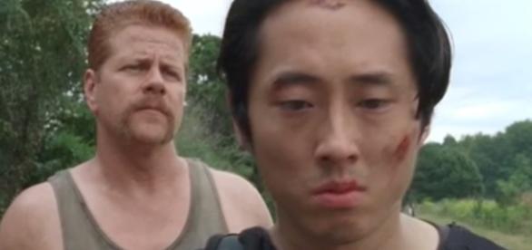 Glenn e Abraham na quarta temporada