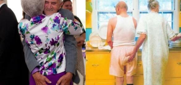 Imagens de idosos sendo felizes mesmo na terceira idade