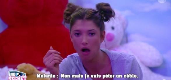 #SS10 #SecretStory - Au bout du rouleau, Mélanie craque !