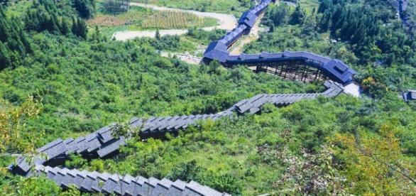 World's longest sightseeing escalator built in China - News - The ... - thejakartapost.com