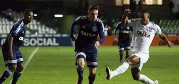 Com 21 anos, jogador do Coxa desperta interesse do Corinthians