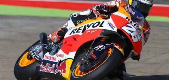 Grave accidente de Dani Pedrosa en MotoGP ocurrido en Motegi(Japón)
