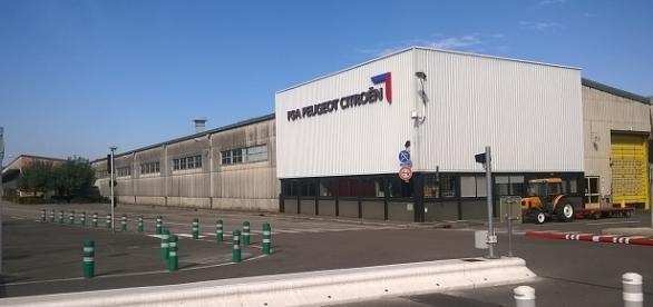 L'usine PSA Peugeot Citroên de Vesoul (Haute-Saône)