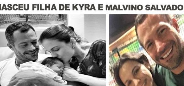 Nasce Kyara, filha de Kyra Gracie e Malvino Salvador