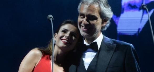Paula cantou outras duas canções além de 'Vivo per Lei'
