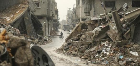 Vidéo incroyable] Un drone survole et filme Gaza après les ... - halalbook.fr