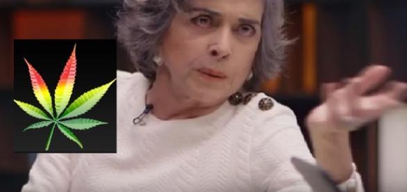 Betty Faria e a polêmica com maconha