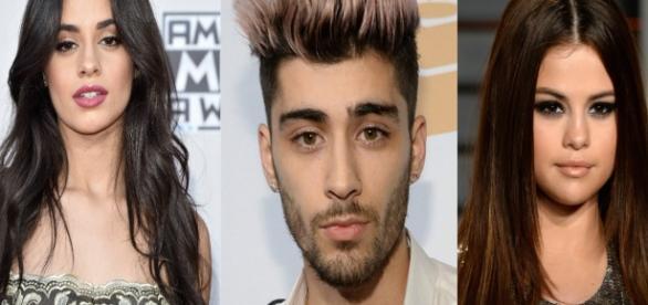 Camila Cabello, Zayn Malik e Selena Gomez