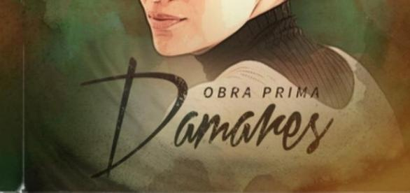 Capa do cd Obra Prima da cantora Damares.