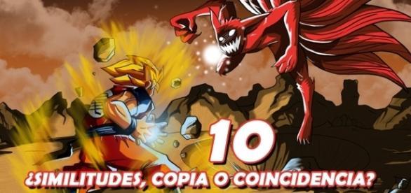 Naruto vs Dragon Ball: ¿Copia o coincidencia?