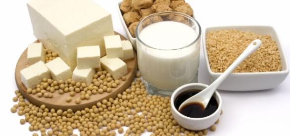 pierdere în greutate, soia, proteine vegetale