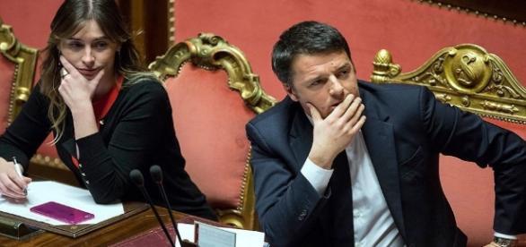 Renzi starebbe pensando di scaricare la Boschi
