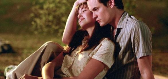 Shane West e Mandy Moore em Um Amor Pra Recordar