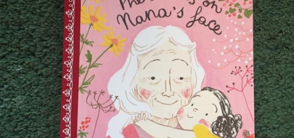 Simona's latest book focuses on the memories of a grandmother. / Photo via Tucker Stone, Flying Eye Books. Used with permission.