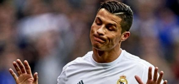 Cristiano Ronaldo no tuvo su día