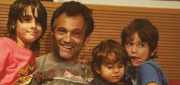 Domingos Montagner deixou três filhos