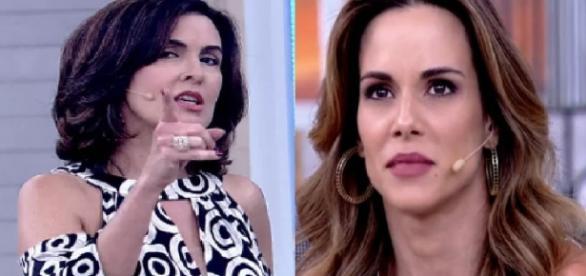 Fátima Bernardes e Ana Furtado - Google