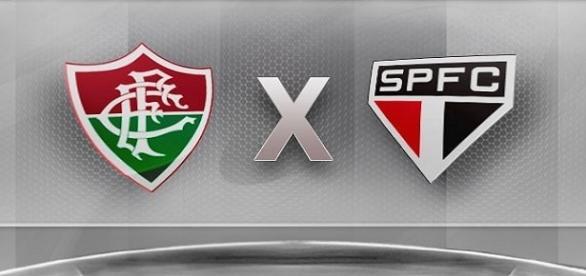 Fluminense e São Paulo disputam jogo importante na noite de segunda pelo Brasileiro (Foto: Ao Vivo na TV)