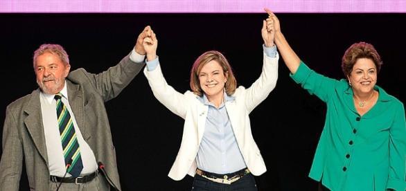 Gleise foi ministra de Dilma, enquanto seu marido foi de Lula
