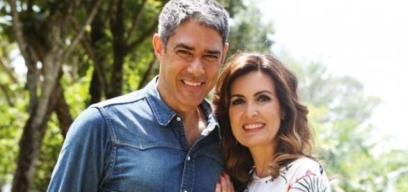 O casal de jornalistas terminou um casamento de vinte e seis anos