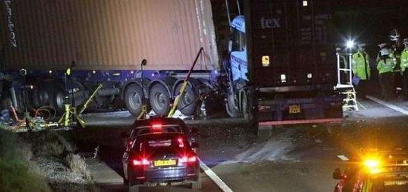 Șofer britanic vinovat pentru uciderea a doi români în UK