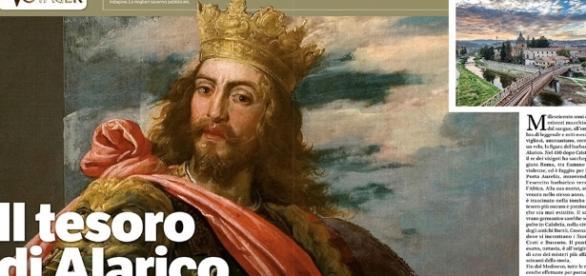 Tesoro Alarico, a Cosenza ripartono le ricerche