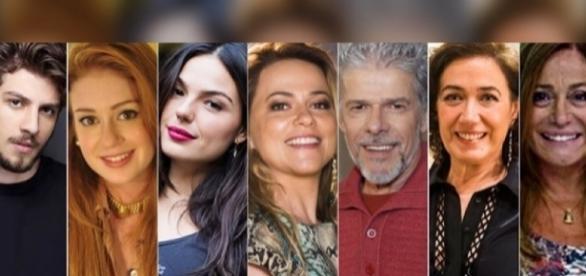 Alguns dos artistas confirmados para o elenco de ''O Sétimo Guardião''