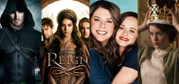Arrow; Reign; Gilmore Girls, The Crown