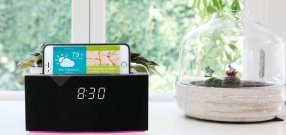 BEDDI is an alarm clock that uses the latest in technology to function at the highest level. / Photo via Kelli Dobbins, Productivity PR.